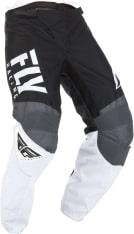 Spodnie cross/enduro FLY RACING F-16 kolor biały/czarny/szary