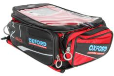 torba na bak X40 NEW pojemność 40L z magnesami, kolor czerwony zdjęcie poglądowe