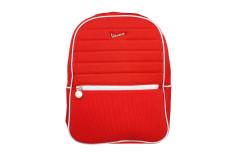Plecak nylonowy pikowany czerwony Vespa