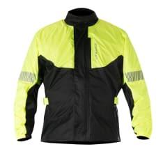 Kurtka przeciwdeszczowa ALPINESTARS HURRICANE kolor czarny/fluorescencyjny/żółty