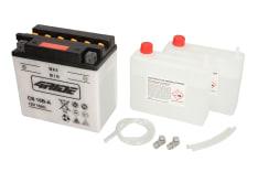 Akumulator Kwasowy/Obsługowy/Rozruchowy 4 RIDE 12V 16Ah 207A L+ odpowietrzenie z lewej 161x91x162 Suchoładowany z elektrolitem HONDA VF; SUZUKI VS, VX 600/800/1000 1984-