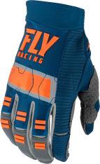 Rękawice cross/enduro FLY RACING EVOLUTION DST kolor niebieski/pomarańczowy/szary
