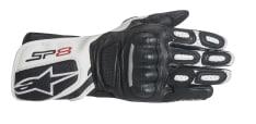 Rękawice sportowe ALPINESTARS STELLA SP-8 V2 GLOVES kolor biały/czarny