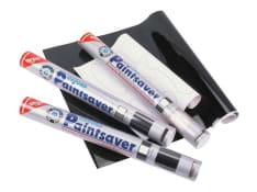 Akcesorium naklejki do zabezpieczania części plastikowych do samodzielnego wycinania, kolor przezroczysty (1 arkusz, karbon)