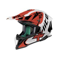 Kask cross/enduro X-LITE X-502 XTREM 20 kolor biały/czarny/czerwony