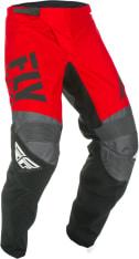 Spodnie cross/enduro FLY RACING F-16 kolor czarny/czerwony/szary