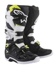 Buty cross/enduro TECH 7 ALPINESTARS MX kolor biały/czarny/fluo/żółty