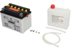 Akumulator Kwasowy/Obsługowy/Rozruchowy 4 RIDE 12V 3,5Ah 56A P+ odpowietrzenie z prawej 121x71x93 Suchoładowany z elektrolitem APRILIA AF1, AMICO, AREA 51, CLASSIC, COMPAY, GULLIVER 25-600