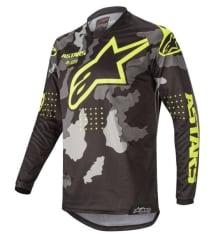Koszulka off road ALPINESTARS RACER TACTICAL kolor camo/czarny/fluorescencyjny/pomarańczowy/szary