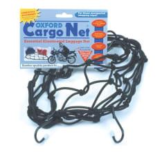 Siatka na bagaż Cargo Net OXFORD kolor czarny 6 haczyków