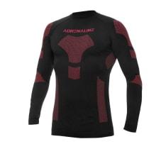 Koszulka termoaktywna ADRENALINE FROST kolor czarny/czerwony
