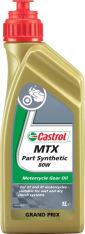 Olej przekładniowy CASTROL MTX PART SYNTHETIC SAE 80 1l GL-4 Półsyntetyczny