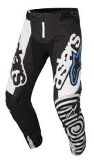 Spodnie cross/enduro ALPINESTARS MX TECHSTAR VENOM kolor biały/czarny/niebieski