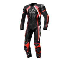 Kombinezon jednoczęściowy LOSAIL RACE SPYKE kolor biały/czarny/czerwony