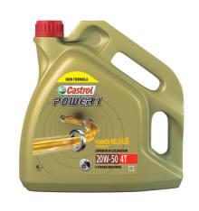 Olej do silników 4T 4T CASTROL Power 1 SAE 20W50 4l SN JASO MA-2 Mineralny