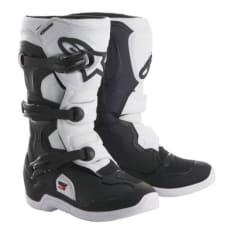 Buty cross/enduro TECH 3S YOUTH ALPINESTARS MX kolor biały/czarny
