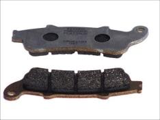 Klocki hamulcowe przód/tył, przeznaczenie: droga, materiał: platinum-P, 115,6x41x8,3mm HONDA CBF, CBR, GL, NT, ST, VFR, VTX, XL 600-1800 1996-