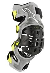 Stabilizator kolan ALPINESTARS MX BIONIC-7 kolor fluorescencyjny/srebrny/żółty