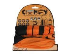 Kołnierz ocieplający OXFORD HD kolor czarny/pomarańczowy, rozmiar OS 3-pack