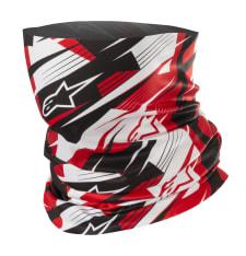 Kołnierz ocieplający ALPINESTARS BLURRED kolor biały/czarny/czerwony, rozmiar OS