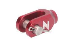 Mocowanie dźwigni tylnego hamulca Yamaha YZ(F), Suzuki RM(Z) kolor czerwony
