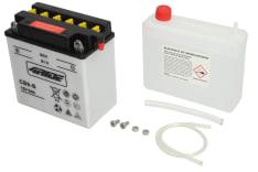 Akumulator Kwasowy/Obsługowy/Rozruchowy 4 RIDE 12V 9Ah 130A L+ odpowietrzenie z prawej 138x77x141 Suchoładowany z elektrolitem APRILIA AF1, CLASSIC, ETX, RED ROSE, RS, SCARABEO 25-750 1968-