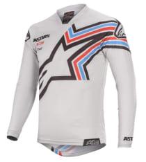 Koszulka off road ALPINESTARS MX RACER BRAAP kolor czarny/szary