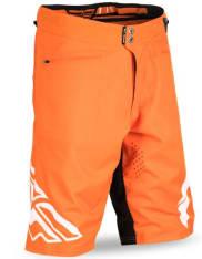 Spodenki rowerowe FLY RADIUM kolor biały/pomarańczowy