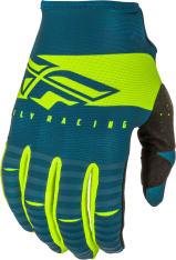 Rękawice cross/enduro FLY RACING KINETIC Shield kolor fluorescencyjny/niebieski/żółty