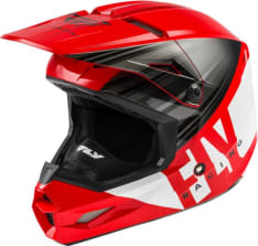 Kask cross/enduro FLY RACING KINETIC K220 ECE kolor biały/czarny/czerwony