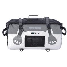 torba na tył motocykla Rollbag AQUA 50 T-50 kolor biały 50 litrów