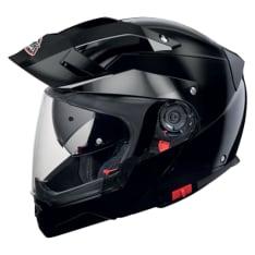 Kask szczękowy SMK HYBRID EVO BLACK GL200 kolor czarny