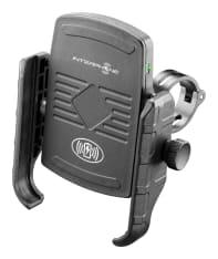 Uchwyt na telefon z ładowarką bezprzewodową INTERPHONE (montowany do kierownicy, z wspornikiem do lusterka)