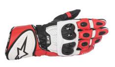 Rękawice sportowe ALPINESTARS GP PLUS R GLOVES kolor biały/czarny/czerwony