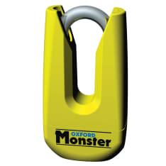 Zabezpieczenie antykradzieżowe OXFORD Monster kolor żółty trzpień 11mm