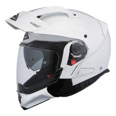 Kask szczękowy SMK HYBRID EVO WHITE GL100 kolor biały