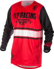 Koszulka off road FLY KINETIC ERA kolor czarny/czerwony