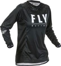 Koszulka off road FLY RACING Women's Lite kolor biały/czarny