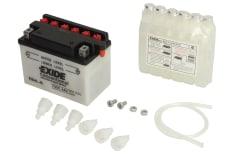 Akumulator Kwasowy/Obsługowy/Rozruchowy EXIDE 12V 4Ah 50A P+ odpowietrzenie z prawej 120x70x92 Suchoładowany z elektrolitem YB4L-B APRILIA AF1, AMICO, AREA 51, CLASSIC, COMPAY, GULLIVER 25-600