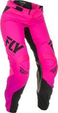 Spodnie cross/enduro FLY RACING Women's Lite kolor fluorescencyjny/różowy