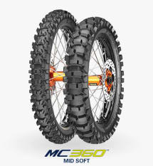 Opona cross/enduro METZELER 80/100-21 TT 51M MC360 MID SOFT Przód