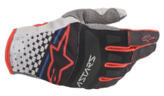Rękawice off road ALPINESTARS MX TECHSTAR kolor czarny/czerwony/szary