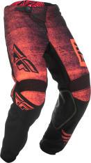 Spodnie cross/enduro FLY RACING KINETIC Noiz kolor czarny/czerwony