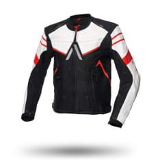 Kurtka sportowa ADRENALINE DRACO kolor biały/czarny/czerwony