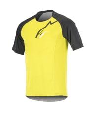 Koszulka rowerowa ALPINESTARS TRAILSTAR kolor czarny/żółty