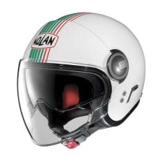Kask otwarty NOLAN N21 VISOR JOIE DE VIVRE 43 kolor biały/czerwony/zielony