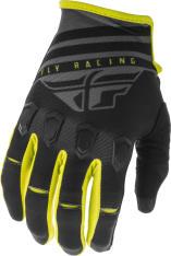 Rękawice off road FLY RACING KINETIC K220 kolor czarny/fluorescencyjny/szary/żółty