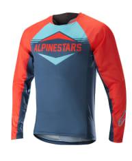 Koszulka rowerowa ALPINESTARS MESA kolor niebieski/pomarańczowy
