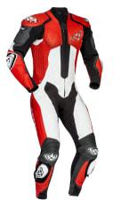 Kombinezon jednoczęściowy VENDETTA IXON kolor biały/czarny/czerwony