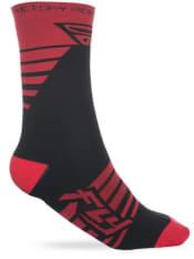Skarpety FACTORY RIDER PRO FLY kolor czarny/czerwony